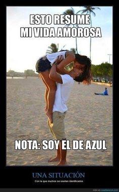 Esto resume mi vida amorosa-Imagenes graciosas para whatsapp #graciosas #divertidas #humor #risas #cachondeo