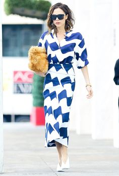The Major Bag and Shoe Trends Victoria Beckham Is Endorsing via @WhoWhatWearUK