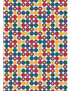 Tecido Adesivo Poá Colorido Ref 2054-1