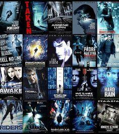 Les affiches de films: du pareil au même!     Pour les thrillers nerveux, cela sera plutôt une rue bleutée légèrement penchée.