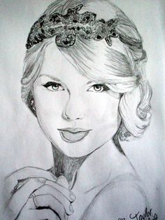 YES!!!!Finally I finished my Taylor Swift Drawing that took 2hours to make!!Hope you guys like it