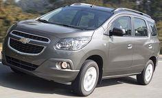 Chevrolet Spin já está à venda nas concessionárias