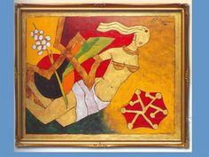 Picasso of India - M. The Mahabharata, Classic Sports Cars, Indian Artist, Hindu Deities, Mother Teresa, Picasso, Sri Lanka, Printmaking, September