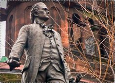 Alexander Hamilton statue in Harlem has a distinctive past.