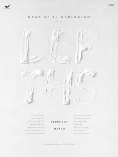 Graphic Design Inspiation Gallery no. 810   From up North