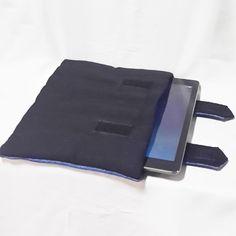 Smart and elegant Denim Quilted iPad Case.