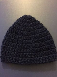 a06f94ad30344 Extra Off Coupon So Cheap Beanie Cap Hat Baby Boys Preemie Navy Blue  Handmade Skullcap Crochet