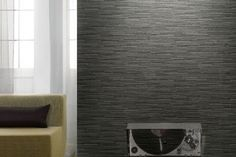 Murano – A great slate/stone look wallpaper, love the texture Wallpaper Sydney, Power Wallpaper, Look Wallpaper, Stone Wallpaper, Slate Stone, Wood Stone, Paper Wall Art, Latest Wallpapers, Interior Decorating