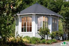 Деревянные беседки закрытые панорамные окна. Двери 8-угловой бельведер