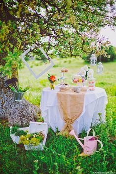 Decorated table, set in mainland Greece (Alexandroupolis - Thraki)