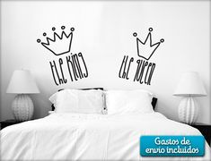 Originales vinilos decorativos 19€ Dream Bedroom, Girls Bedroom, Bedrooms, Bedroom Ideas, Living Room Murals, Home Signs, Decoration, Living Room Designs, Sweet Home