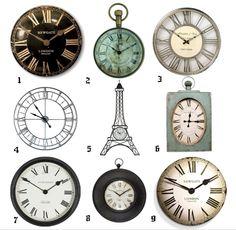 DearDesigner's clocks