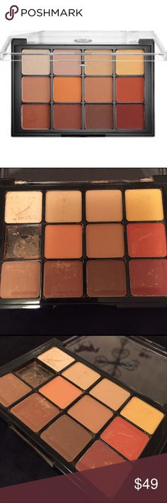 Viseart Warm Neutral Matte Palette- Brand New (-1) This palette arrived to me from Sephora with 1 shadow smashed to dust! I've never received anything damaged like this and I order at least 3 x a month. So I cleaned it up as good as I could which took 45 minutes bc the palette was covered, even the box. This is when I saw that the rest of the shadows are fine and useable. I didn't dust those off bc I didn't want it to look used. If you are a makeup junkie like me, you already know how unreal…