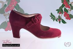 https://www.tamaraflamenco.com/es/zapatos-de-flamenco-profesionales-4 Zapato profesional de flamenco Begoña Cervera Modelo Tablas ante