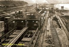 Imágenes de Chile del 1900: Viña del Mar Railroad Tracks, Social Stories, Train Tracks