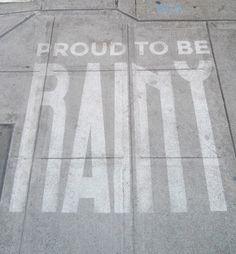 Street Art That Only Appears When It Rains - My Modern Met