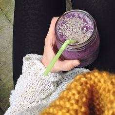 Blueberry #smoothie  #Padgram