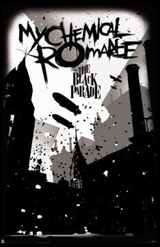 My Chemical Romance - Blimps Black Parade Poster