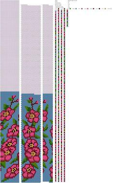 18 around bead crochet rope pattern Bead Crochet Patterns, Seed Bead Patterns, Beading Patterns, Spiral Crochet, Bead Crochet Rope, Beaded Crochet, Loom Beading, Bead Art, Bead Weaving