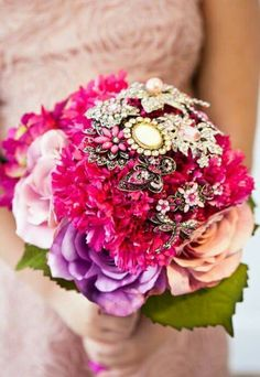Bouquet bijoux