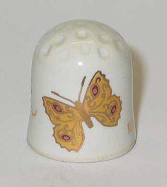 Porcelain thimbles of artist Nikitin