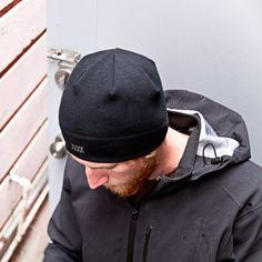 """Gobi  Merino Wool Beanie  Wool with added stretch, the """"Gobi"""" beanie is perfect for colder winter rides. Cut tight to fit well under a helmet."""