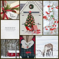 Merry Christmas. #moodboard #mosaic #collage #byJeetje♡