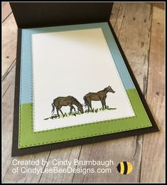 Cindy Brumbaugh, Independent Stampin' Up Demonstrator Horse Cards, Western Theme, Bee Design, Cowboy And Cowgirl, Animal Cards, Man Birthday, Folded Cards, Scrapbook Cards, Homemade Cards