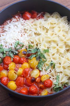 Chicken Mozzarella Pasta with Roasted Tomatoes | Tastes Better From Scratch