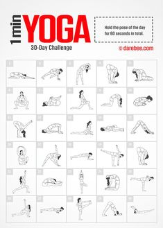 Yoga Challenge by DAREBEE Amazing Website, would be great to compile a workout folder to pull from & write on the board in the gym Fitness Workouts, Fitness Herausforderungen, At Home Workouts, Planet Fitness, Health Fitness, Darbee Workout, Circuit Fitness, Simple Workouts, Push Up Workout
