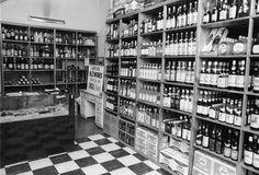 Preston's wine store, 1970