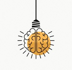 How to Take Back Attention illustration light bulb brain Brain Illustration, Brain Logo, Cute Easy Drawings, Logo Design, Graphic Design, Logo Inspiration, Royalty Free Images, Line Art, Light Bulb