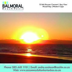 Come and enjoy a beautiful morning here at Balmoral Beach House. Call us at: 083 448 1118 E-Mail: andre.saaiman@sachin.co.za #accommodation #Hartenbos #Mornings
