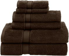6 Piece Oversized And Extra Heavy Towel Set Includes 2 Bath Towels Hand Washcloths Imported Measure 30 By 56 Inches