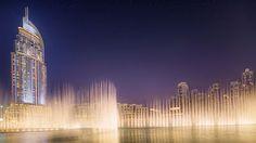 Burj Khalifa, Dubaj, Spojené arabské emiráty.