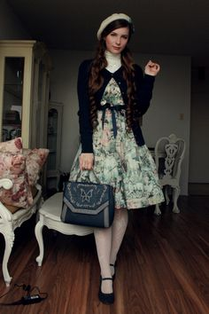 Fanny Rosie | Outfit to go see the lanterns at the Botanical Garden with friends.