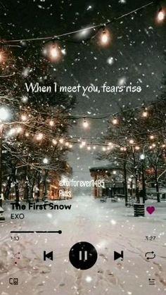 Foto Sehun Exo, D O Exo, Exo 12, Park Chanyeol Exo, Snow Song, Exo For Life, Korean Drama Best, Nights Lyrics, Exo Music