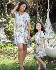Para as princesas de plantão: look combinando com a mamãe <3