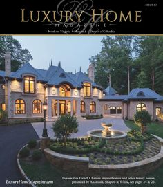 luxury home magazine front covers real estate on pinterest magazines photography and. Black Bedroom Furniture Sets. Home Design Ideas