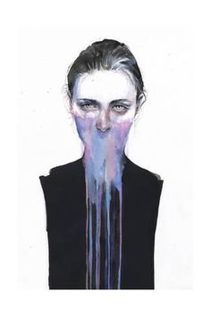 Art Print: My Opinion About You by Agnes Cecile : 24x16in