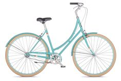 Our most affordable and fun dutch-style step-through bike. Cute new 2014 colors, unbeatable prices. Easy shipping direct to your door, 99% assembled.