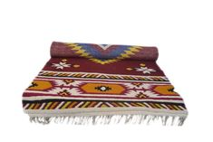 Traditional Himalayan rugs,handmade by local artisans of Uttarakhand