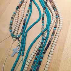 mixology! so excited about our new beads! www.neckgrace.com beautiful travel necklaces waiting for travelers, you! Beaded Necklace, Necklaces, Waiting, Beads, Travel, Beautiful, Jewelry, Fashion, O Beads