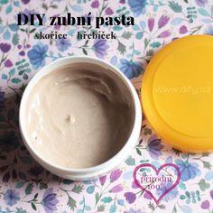 Zubní pasta se skořicí a hřebíčkem Detox, Health Fitness, Ice Cream, Pudding, Homemade, Desserts, Blog, Diy, Masky