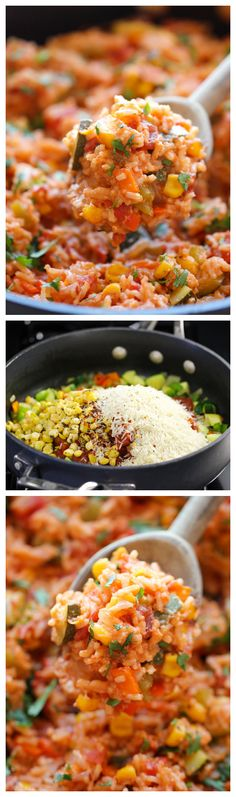 One Pot Mexican Rice Casserole -