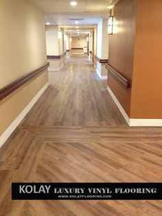 Flooring for senior living, assisted living, military and nursing homes