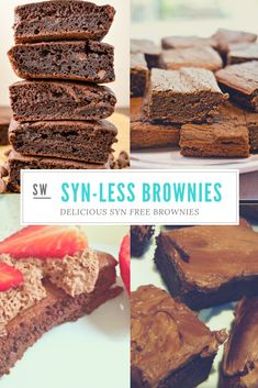 Slimming World Brownies - ½ Syn Chocolate Brownies -You can find Slimming world snacks and more on our website.Slimming World Brownies - ½ Syn Chocolate Brownies - Slimming World Desserts Puddings, Slimming World Deserts, Slimming World Vegetarian Recipes, Slimming World Tips, Slimming World Dinners, Slimming World Carrot Cake, Slimming World Taster Ideas, Slimming World Syn Values, Slimming World Pasta
