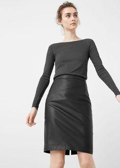 Pencil skirt - Skirts for Women   MANGO USA