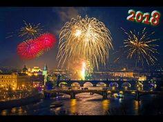 Новогодний фейерверк в Праге