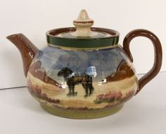 Royal Devon Art Pottery Exeter Teapot With by PepperBlueAntiques